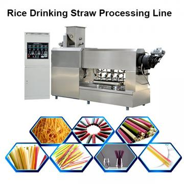 Natural Rice Drinking Straw Making Machine