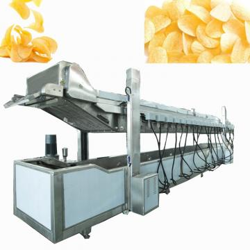Small scale semi-automatic potato chips production line/industrial potato chips making machine